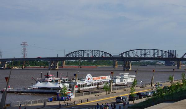 Missouri -St Louis - River front