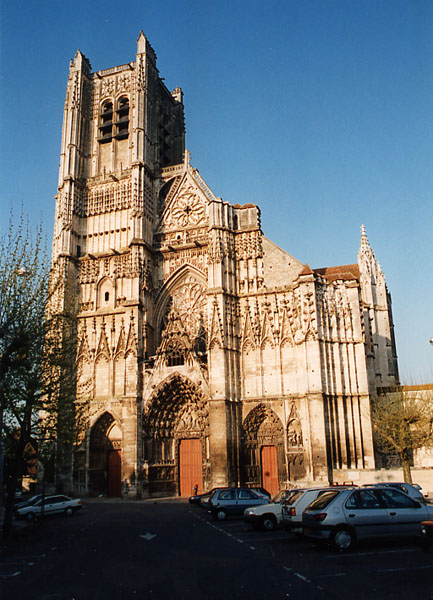 Auxerre - Cathédrale Saint-Etienne